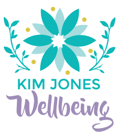 kim jones wellbeing logo